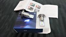 フィアット500 C (カブリオレ)不明 H7 LED ヘッドライトの単体画像