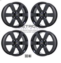 トレイルブレイザーDETROIT wheel&tire PVD Black Chrome Wheels (Set of 4)の全体画像