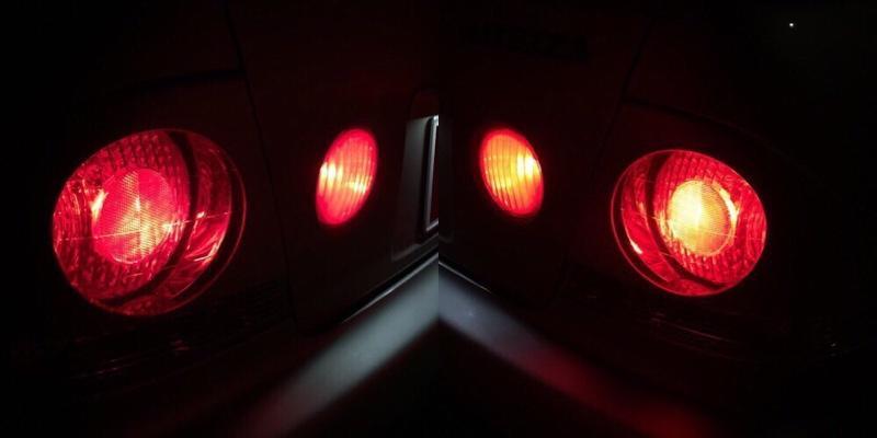 まめ電 T20 LED ダブル MIRA-SMD レッド