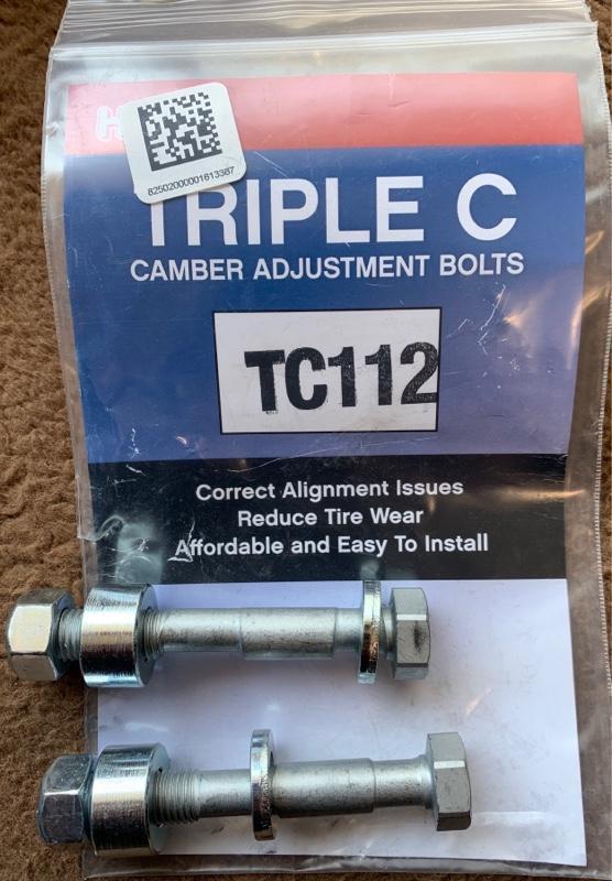 H&R キャンバーボルト TC112