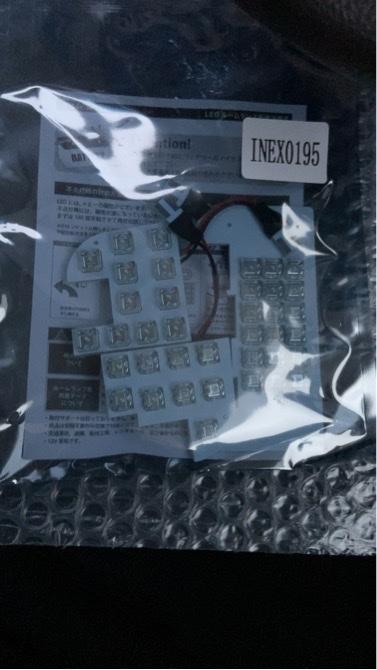 RIDE / INEX LEDルームランプ38発 3点