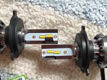 MT-07不明メーカー LEDヘッドランプ H4 4300kの全体画像
