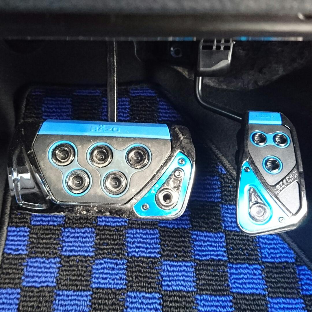 CAR MATE / カーメイト GT SPEC PEDAL SET AT-SS ブルー / RP109BL