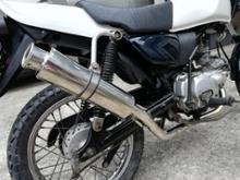 GS50バイクパーツセンター モンキー用マフラーの単体画像