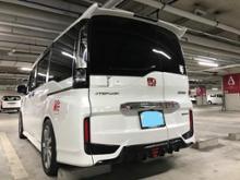 ステップワゴンスパーダハイブリッドModulo / Honda Access フロントバンパーの全体画像