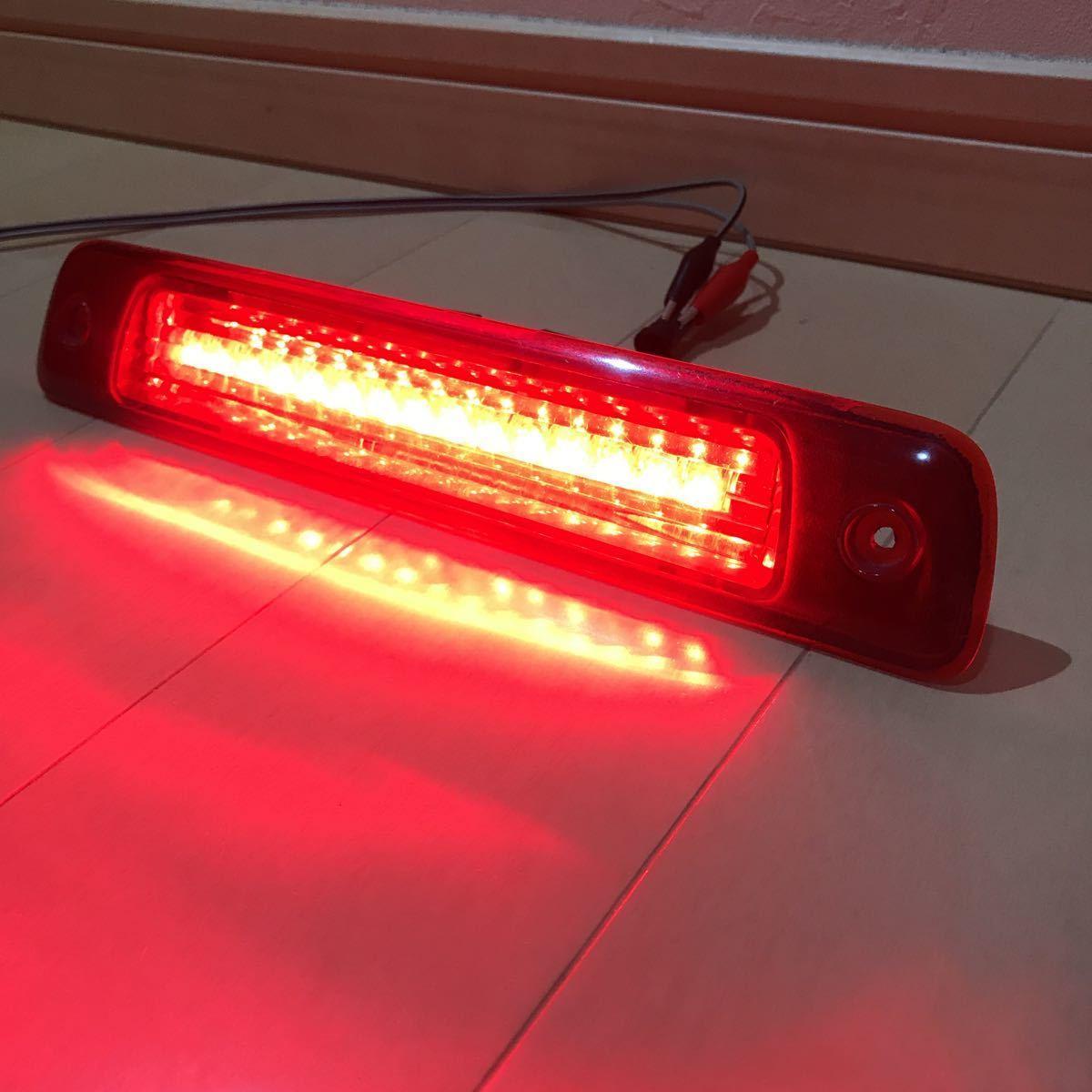 不明 LEDハイマウントストップランプ