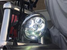 ダイナ ワイドグライドパインバレー 車検対応LEDヘッドライトの単体画像