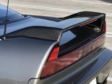 NSXRoute Ks 02R仕様ドライカーボンウイングの単体画像