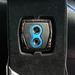 CAR MATE / RAZO フットパーキングブレーキペダル用 GT SPECペダル PKB/ブルー【RP108BL】