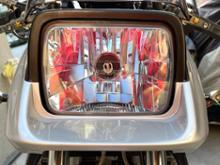 GSX750S KATANA (カタナ)RAYBRIG / スタンレー電気 マルチリフレクターヘッドライト ブルータイプ / FH06の単体画像