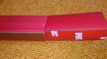レヴォーグKAKUMEI MOTORSPORTS スカートリップ(チェリーレッド)の単体画像