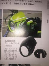 XL1200X フォーティーエイトNoy's Factory アッパーカウルの全体画像