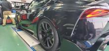 スープラRAYS VOLK RACING G025の全体画像