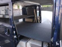 MGR CUSTOMS ベッドキット エブリィバン DA17V ベッドキット・パンチカーペット 両側延長タイプ・エブリイ車中泊 ベットキット・エブリー車中泊マット