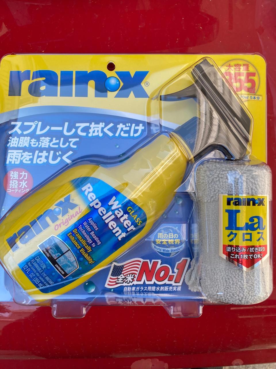 rainax ガラス、ウインドウケア