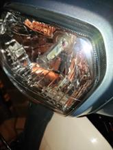 スーパーカブ110Sphere Light RIZINGⅡ Hs1 18w 6000kの全体画像