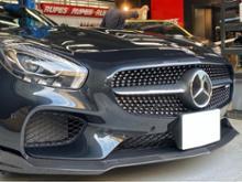 AMG GTLuethen Motorsport フロントカーボンスプリッターの単体画像