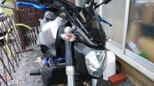 MT-07RIDEA ヘッドライトカバーの全体画像