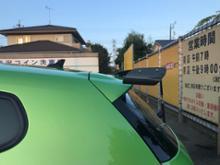シロッコレーシングハマー 汎用GTウイングの単体画像