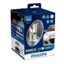 ティーダラティオPHILIPS X-treme Ultinon LED H4 LED Headlight 6000Kの単体画像