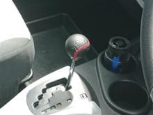 CAR MATE / カーメイト レザーノブR 240 レッドステッチ / RA128RE