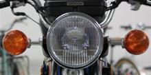 CG125ホンダ(純正) CB223用ヘッドライトの単体画像