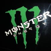 Monster Energy MONSTER ENERGY ステッカー