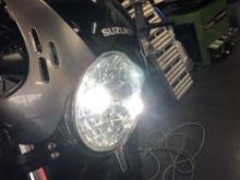SV650ABSクロライト LED GFX08Rの全体画像
