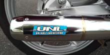 スーパーカブ110_JA44アンレーベル ファントレックマフラーの全体画像