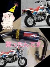 モンキーバハ山本レーシング モンキーBAJA用マフラーヤマモトレーシングSPEC-Aの単体画像
