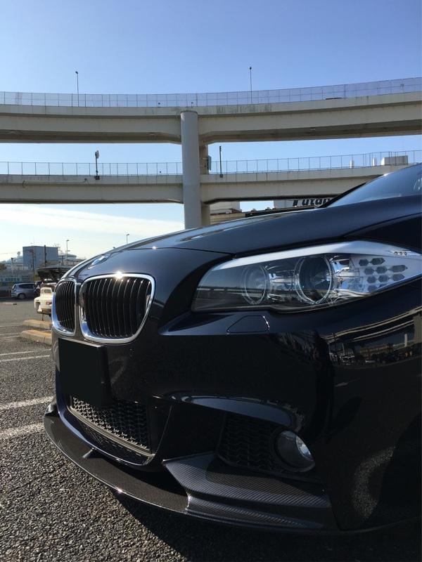 BMW M PERFORMANCE カーボンフロントスプリッター
