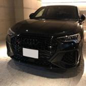 Audi純正(アウディ) 4リングブラックエンブレム