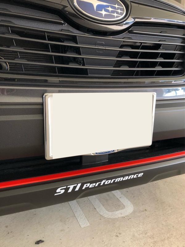 STI STI Performance ステッカー