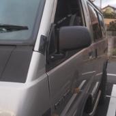 三菱自動車(純正) ミニカ用ドアミラー