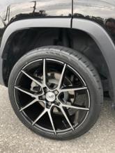 チェロキーSavini Forged Luxury Wheels  BLACK di FORZA BM14 マシンドブラック 20インチ 8.5Jの全体画像