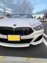 8シリーズ カブリオレBMW(純正) BMW Performance ブラックキドニーグリルの単体画像