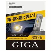 CAR MATE / カーメイト GIGA LED BW5122 F2800 3000K H8/H11/H16