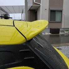 スイフトスポーツガレージフラックス リアスポイラー リアウイングの単体画像