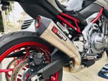 Z900Scorpion Exhausts セルケトテーパー スリップオンマフラーの単体画像