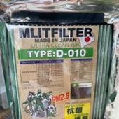 MLITFILTER MLITFILTER TYPE D-010