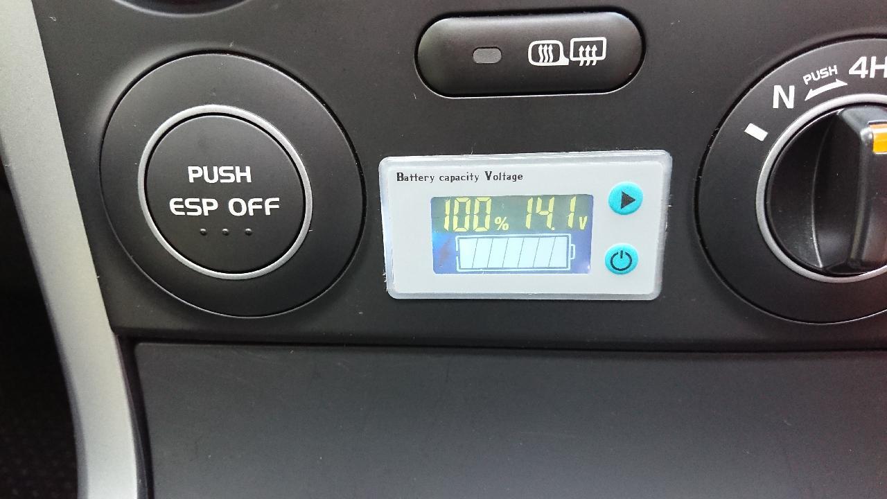 不明 電圧モニター