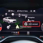Audi 純正(初期装備) Audi connect = データ通信(SIM)契約 Wi-Fiスポット的フル活用