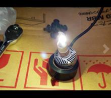 M2 クーペ自作 NOVSIGHT D2/D4 led ヘッドライト プロジェクター専用バージョンの単体画像