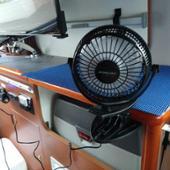 大陸製 車中泊用 ミニ扇風機