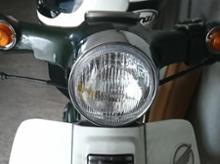 スーパーカブ50デラックスバイクパーツセンター 丸型ライトassyの全体画像