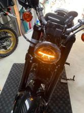 XL1200CX/ロードスターrebacker LEDヘッドライトの単体画像