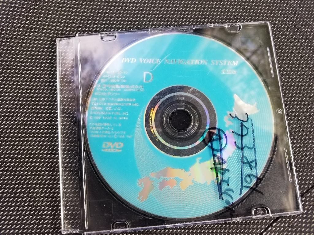 トヨタ(純正) トヨタ純正カーナビ用 DVDナビソフト 86271-30470 D 全国版 1999年秋21