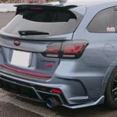 AXIS-PARTS GT-DRYカーボン リアドアガーニッシュ