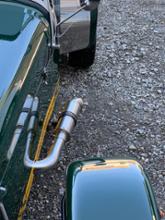 セブン160自作 セブン160用 ショートマフラーの全体画像