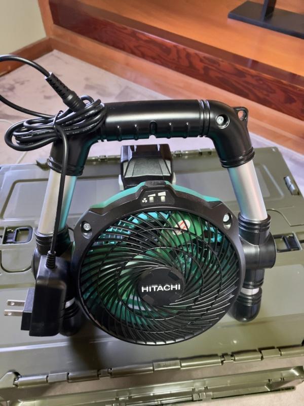 Hitachi koki / 日立工機 14.4V/18V コードレスファン UF18DSDL